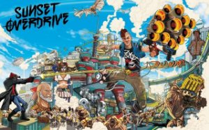 Poster Sunset Overdrive #A