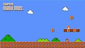 Poster Super Mario Bros #A