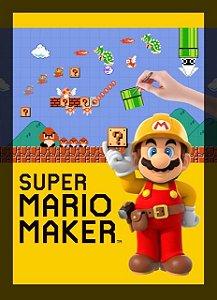 Poster Super Mario Maker #A