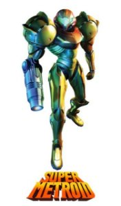 Poster Super Metroid #D