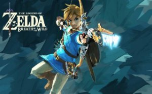 Poster The Legend Of Zelda: Breath Of The Wild #B