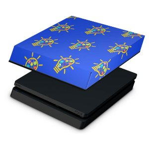 PS4 Slim Capa Anti Poeira - Personalizada