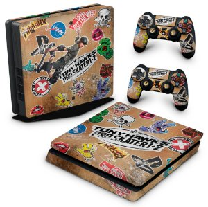 PS4 Slim Skin - Tony Hawk's Pro Skater
