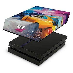 PS4 Fat Capa Anti Poeira - Need For Speed Heat