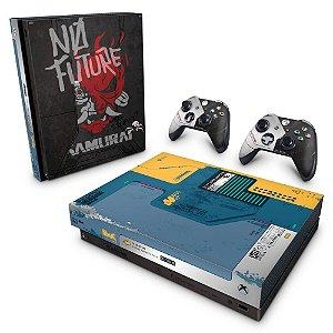 Xbox One X Skin - Cyberpunk 2077 Bundle