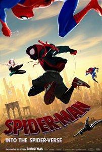 Poster Homem-aranha no aranhaverso C