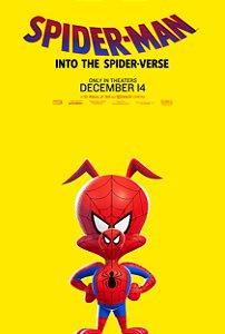Poster Homem-aranha no aranhaverso D