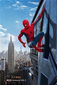 Poster Homem Aranha De Volta ao Lar A