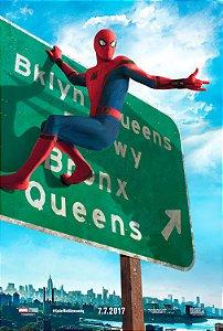 Poster Homem Aranha De Volta ao Lar C