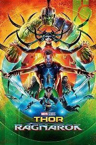 Poster Thor Ragnarok B