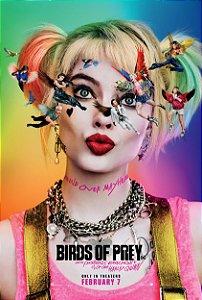 Poster Arlequina Em Aves De Rapina A