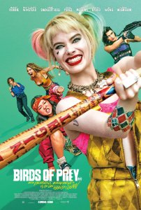 Poster Arlequina Em Aves De Rapina C