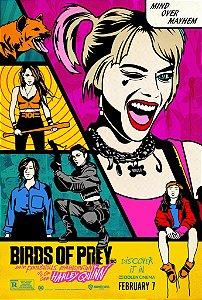 Poster Arlequina Em Aves De Rapina D