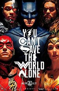 Poster Liga da Justiça A