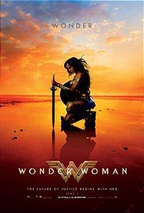 Poster Maravilha Wonder Woman A