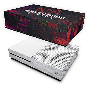 Xbox One Slim Capa Anti Poeira - Watch Dogs Legion