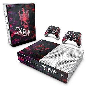 Xbox One Slim Skin - Watch Dogs Legion