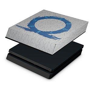 PS4 Slim Capa Anti Poeira - God of War Ragnarok