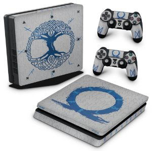 PS4 Slim Skin - God of War Ragnarok