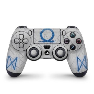 Skin PS4 Controle - God of War Ragnarok
