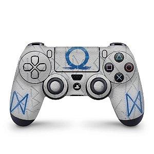 Skin PS4 Controle - God of War Ragnarok