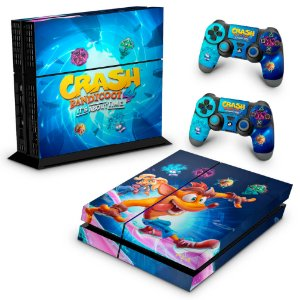 PS4 Fat Skin - Crash Bandicoot 4
