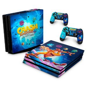 PS4 Pro Skin - Crash Bandicoot 4