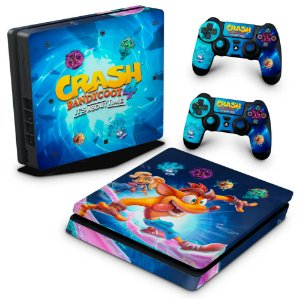 PS4 Slim Skin - Crash Bandicoot 4
