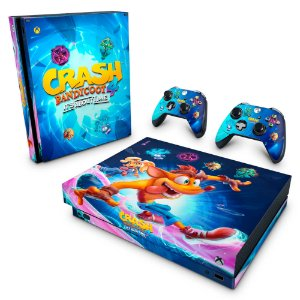 Xbox One X Skin - Crash Bandicoot 4