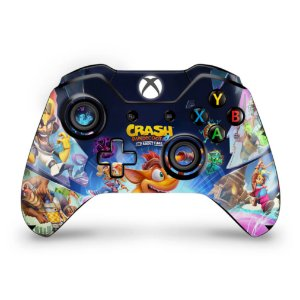 Skin Xbox One Fat Controle - Crash Bandicoot 4