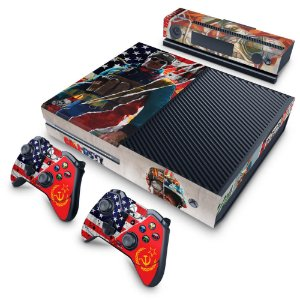 Xbox One Fat Skin - Call Of Duty Cold War