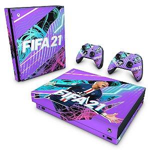 Xbox One X Skin - FIFA 21