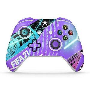 Skin Xbox One Slim X Controle - FIFA 21
