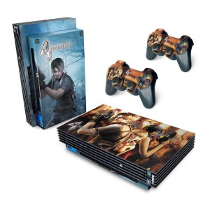PS2 Fat Skin - Resident Evil 4