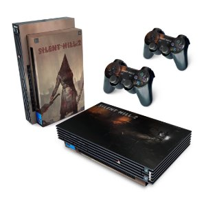 PS2 Fat Skin - Silent Hill 2