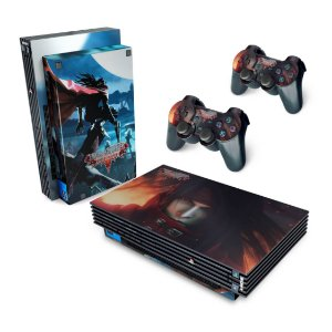 PS2 Fat Skin - Final Fantasy VII