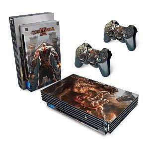 PS2 Fat Skin - God Of War 2 II