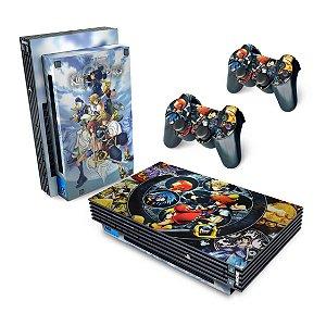 PS2 Fat Skin - Kingdom Hearts II 2