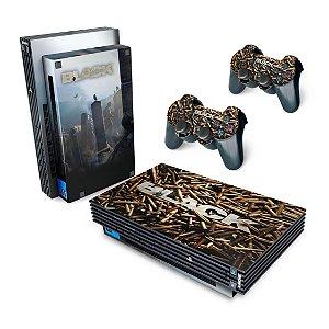 PS2 Fat Skin - Black