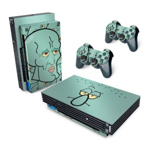 PS2 Fat Skin - Lula Molusco Bob Esponja