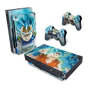 PS2 Fat Skin - Dragon Ball Super