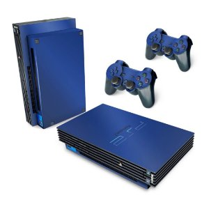 PS2 Fat Skin - Azul Escuro
