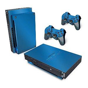 PS2 Fat Skin - Azul Claro
