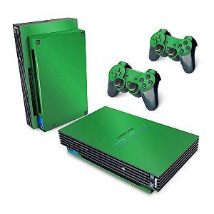 PS2 Fat Skin - Verde