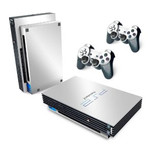PS2 Fat Skin -Branco