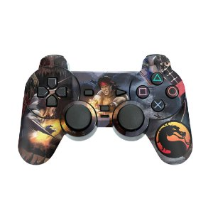 PS2 Controle Skin - Mortal Kombat