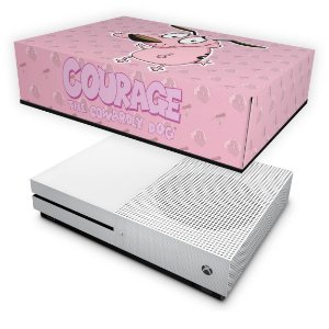 Xbox One Slim Capa Anti Poeira - Coragem: O cão covarde