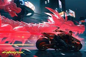 Poster Cyberpunk 2077 C