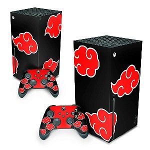 Xbox Series X Skin - Naruto Akatsuki