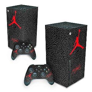 Xbox Series X Skin - Jordan Flight